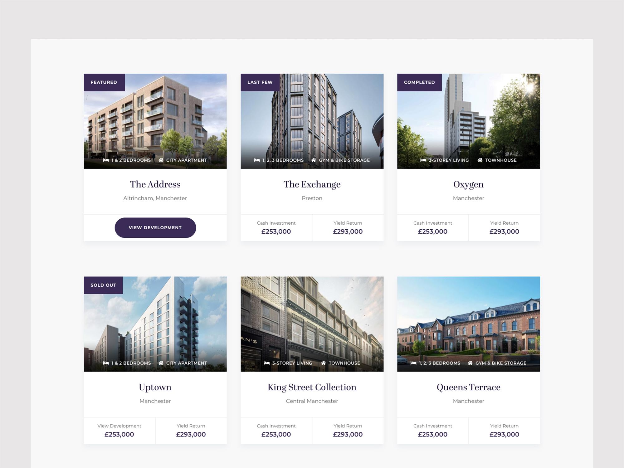 Alliance Investments Re Design Mockup